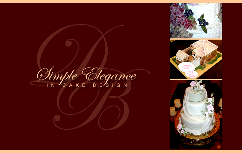 Simple Elegence In Cake Design